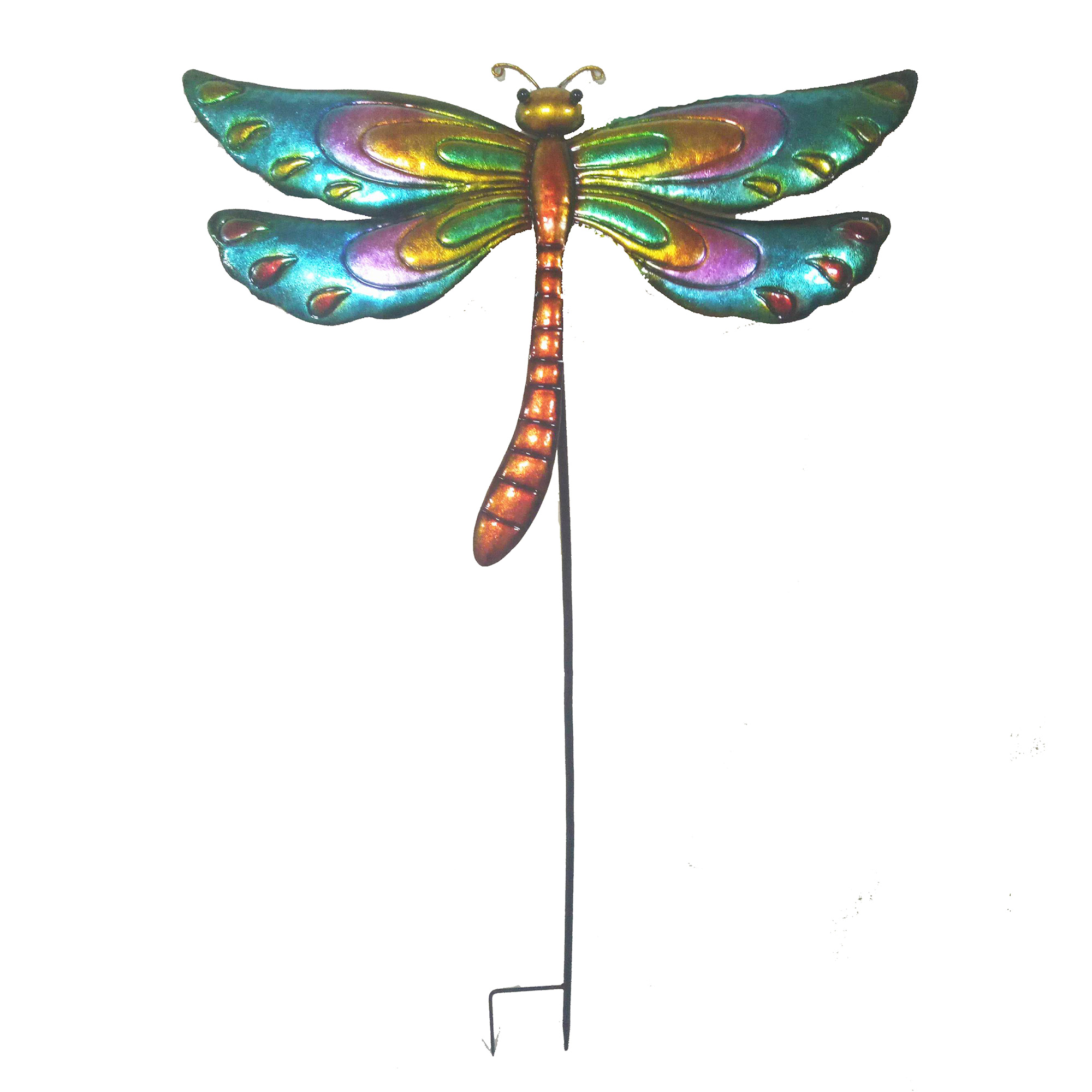 Charmant Dragonfly Garden Stake